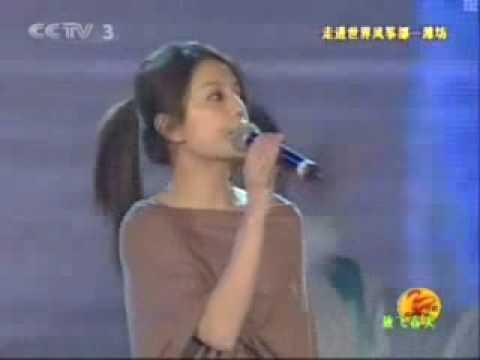 Vicki Zhao Wei singing Romance in the Rain (QSSYMM)