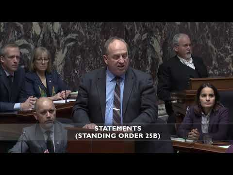 Bringing the warning from the world's scientists to the BC Legislature