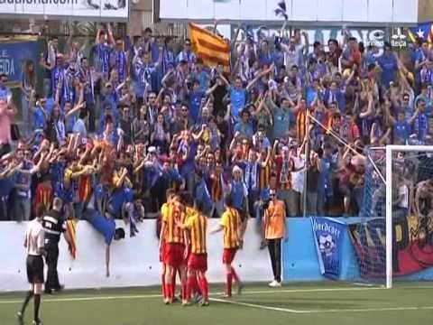 CF Badalona 1-3 Lleida Esportiu (Lleida Tv)