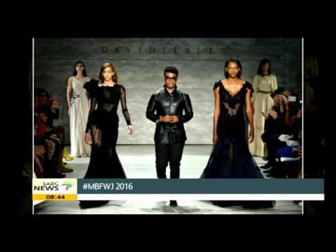 David Tlale showcases at Mercedes-Benz Fashion Week