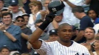 COL@NYY: Bernie Williams notches career hit no. 2,000