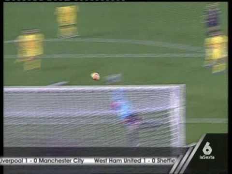 Ronaldinho contra Villarreal