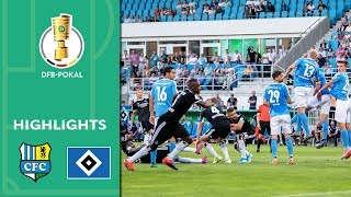 Kittel's lovely free kick | Chemnitzer FC vs. Hamburger SV 7-8 AP | Highlights | DFB Cup | 1st Round