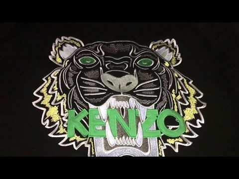 Easy to spot a real authentic Kenzo Tiger Sweatshirt