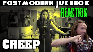 Vocal Coach Reacts To Post Modern Jukebox   Creep   Haley   Ken Tamplin