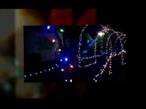Savannah Bamboo Farm Christmas Lights Youtube