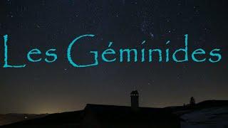 Pluie d'étoiles filantes des Géminides, 13 décembre 2015