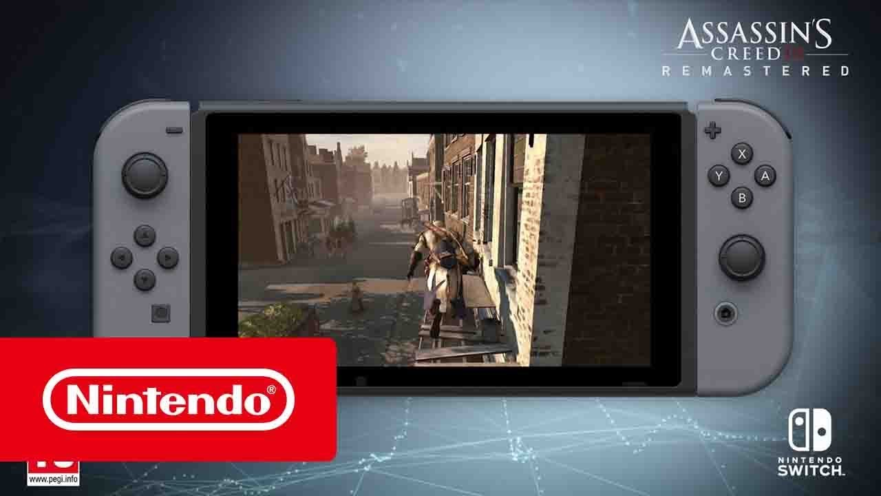 Assassin S Creed Iii Remastered Sur Nintendo Switch Trailer De