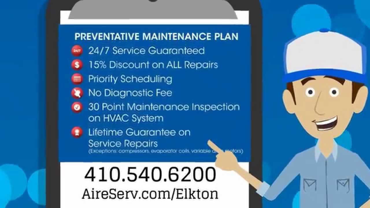 Aire Serv Of Elkton Maintenance Plan