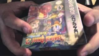 Unboxing juego GBA Advance Sellado - Capcom Classics Mini Mix