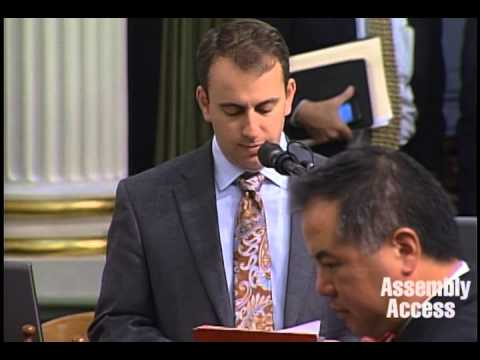 Assemblymember Levine Adjourns the California Assembly in Memory of Robin Williams