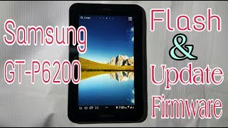 How To Update Firmware Samsung 7.0 Plus GT-P6200 Tablet