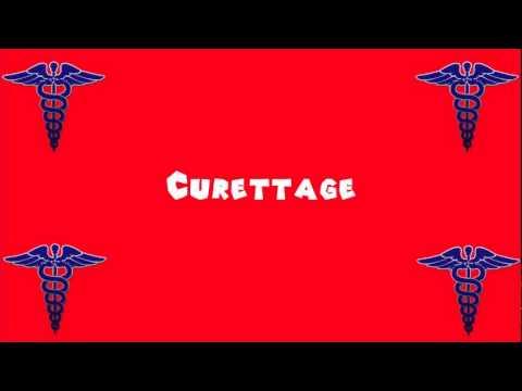 Pronounce Medical Words ― Curettage