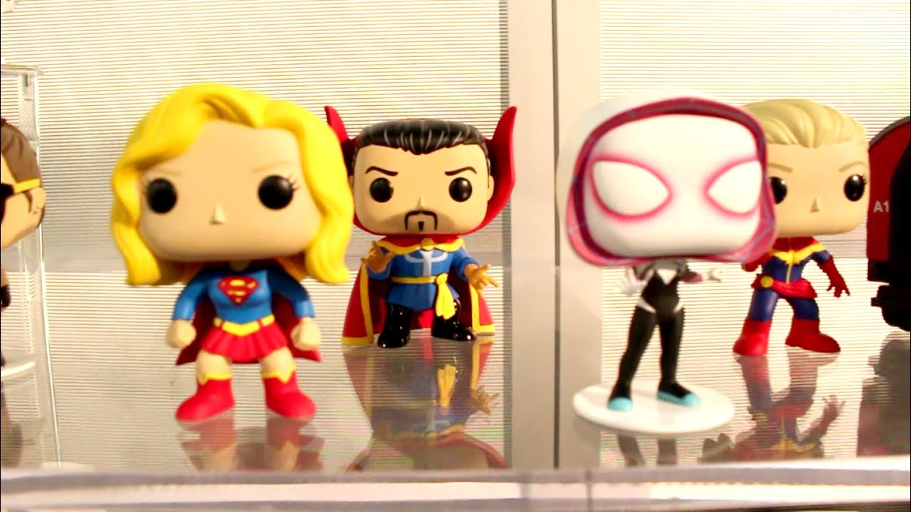 2016 new york toy fair funko pop vinyl figures at the funko booth