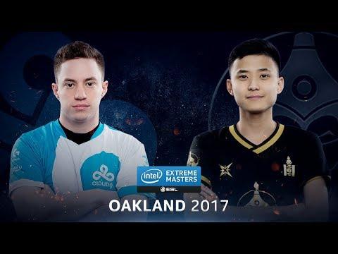 CS:GO - Cloud9 vs. The MongolZ [Mirage] - Group A Round 1 - IEM Oakland 2017