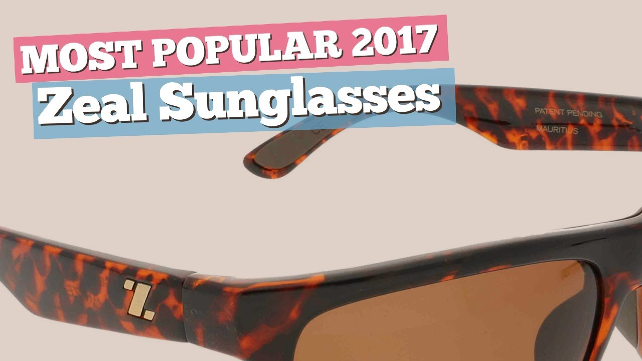 1c688bf1158 Zeal Sunglasses Collection    Most Popular 2017 - YouTube