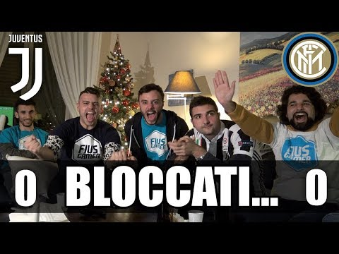 JUVENTUS 0-0 INTER | BLOCCATI... REACTION JUVENTINO E NAPOLETANI