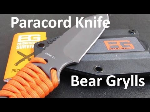 Gerber Bear Grylls Paracord Fixed Blade Knife Worth The Money