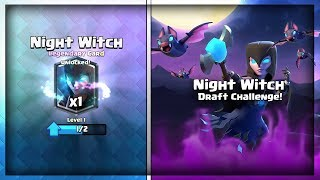 12 WIN NIGHT WITCH CHALLENGE - HOW TO WIN NIGHT WITCH CHALLENGE - Clash Royale thumbnail