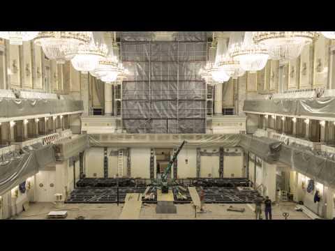 Konzerthaus Berlin: Bühnenneubau im Großen Saal – 3 Monate in 3 Minuten