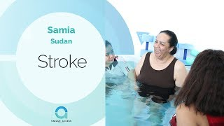 Samia's Stroke Symptoms Improved A Lot After Stem Cells Treatment.