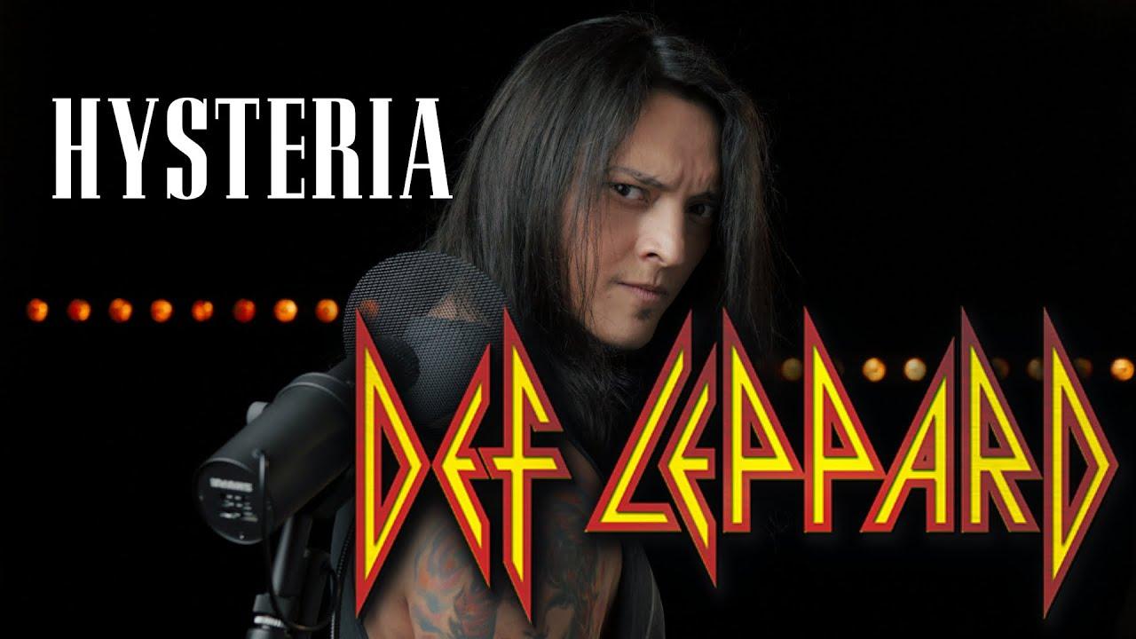 Hysteria - (Def Leppard)cover by Juan Carlos Cano