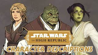 Star Wars The High Republic - New Character Details and Speculation