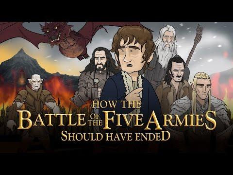 Как должен закончиться Хоббит: Битва пяти воинств [No Sense озвучка]