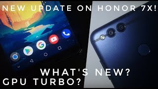 Honor 7X users must watch-New update on Honor 7x!!