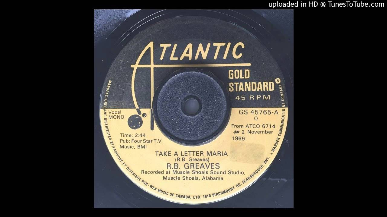 take a letter maria r b greaves take a letter 1969 11482