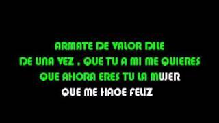 karaoke Los Vazquez   Mienteme una vez  NEGROKAR.avi
