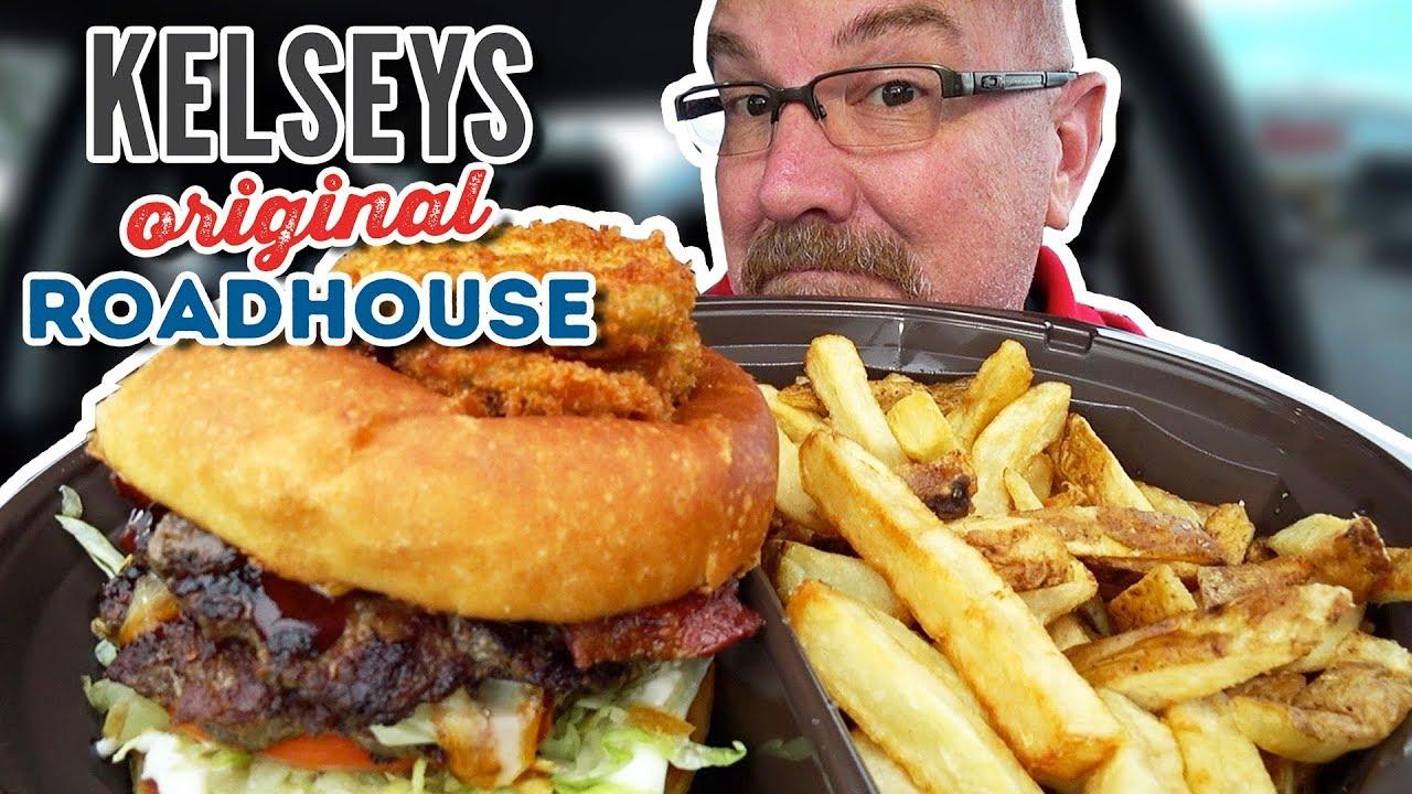 BACON BOURBON BBQ BURGER • Kelseys Original Roadhouse