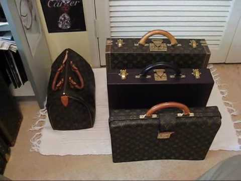 7cdd4c6e26e7 COLLECTING LOUIS VUITTON - PART 10 - Hardcase Suitcases Luggage Briefcases  Hard Case Luxury - YouTube