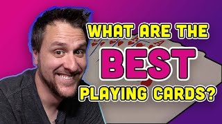 What are the BEST playing cards? | A GLHF 5x5 Investigation