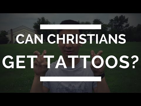 What does the Bible say about Tattoos? Should Christians get Religious Tattoos?