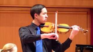 Tchaikovsky Violin Concerto in D Major, 3rd Movement - Josiah Hamill