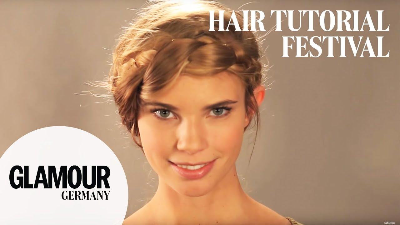 Einfach Lassig Die Locker Geflochtene Festival Frisur I Glamour