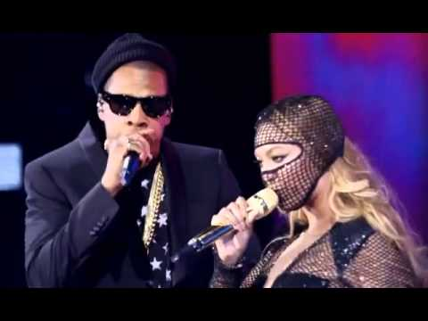 Beyonce And Jay Z Bonnie Clyde Hbo On The Run Youtube