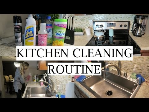 My Kitchen Deep Cleaning Routine! | Clean With Me | Erica Lee