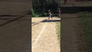 Me playing baseball!
