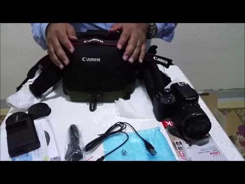 Canon Eos 100D Kutu Açılımı ve İnceleme&Unboxing