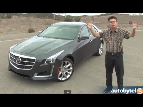 2014 Cadillac Cts 2 0l Turbo Test Drive Video Review Youtube