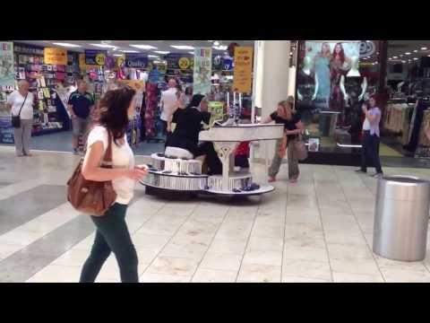 BGT - Crazy Nun Singing in the Metro Centre - Britain's Got Talent