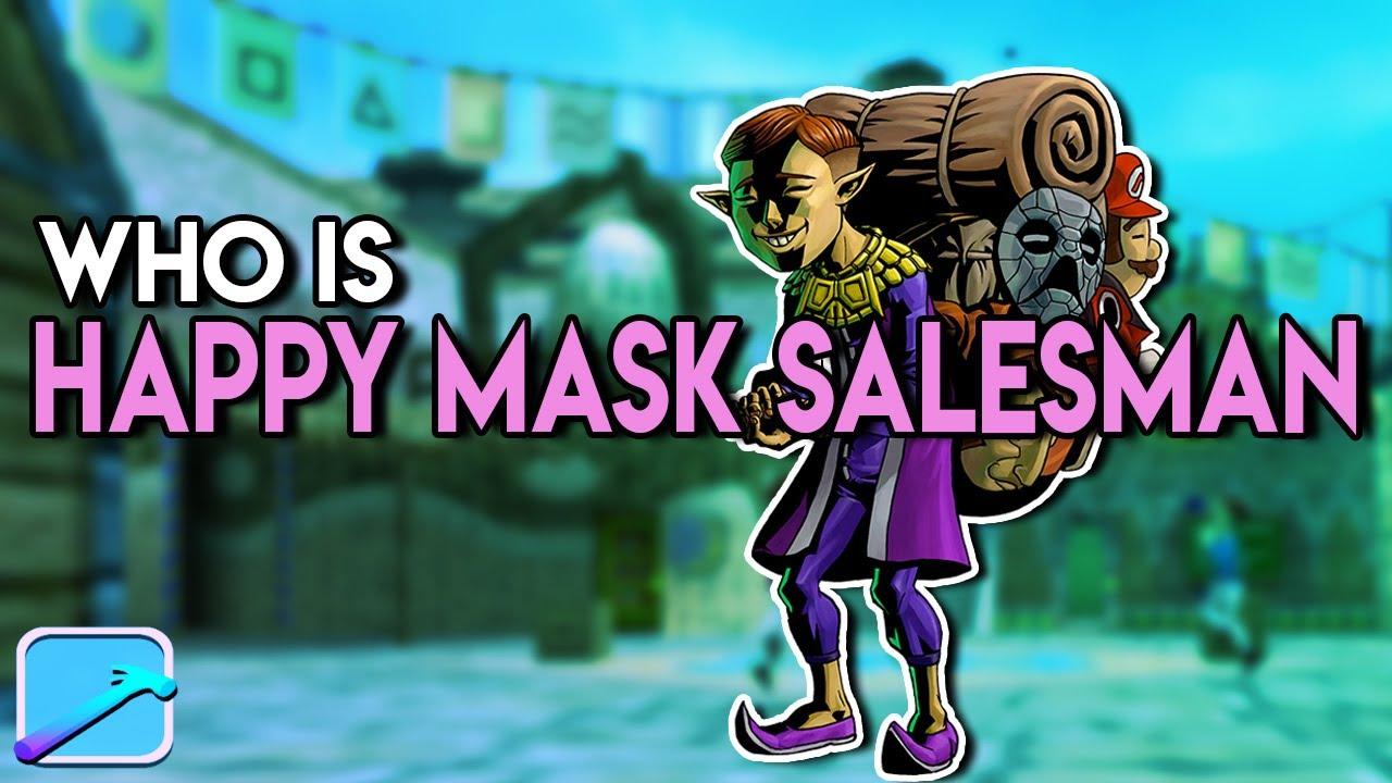 Download Who is The Happy Mask Salesman?   The Legend of Zelda Lore