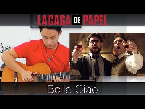 La Casa de Papel Bella Ciao - Rodrigo Yukio ViolaoFingerstyle GuitarTABS