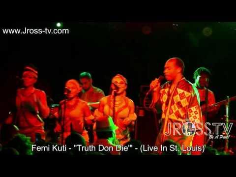 James Ross @ Femi Kuti & The Positive Force -