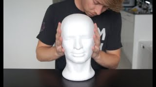 Pasc: Tapping, Scratching & Massage On Foam Head (ASMR)
