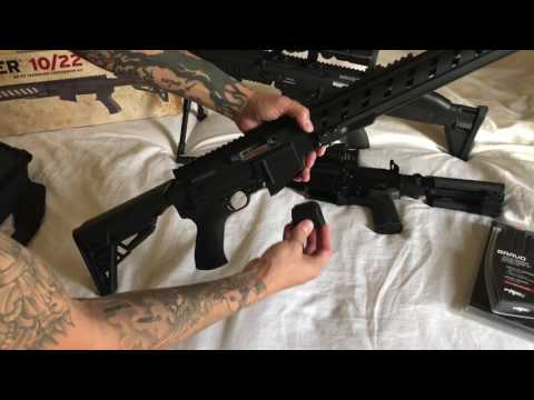 Ruger 10/22 ATI Takedown Stock AR15 22lr review