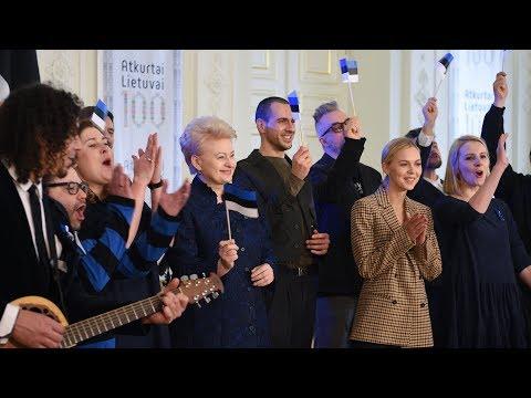 Prezidentės sveikinimas Estijos Nepriklausomybės 100-ųjų metinių proga!