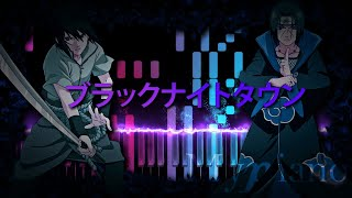 Akihisa Kondo - Black Night Town [ブラックナイトタウン][Burakku Naito Taun][Piano Cover]